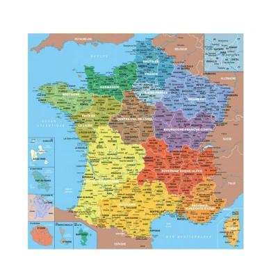 Puzzle-Michele-Wilson-K80-100 Puzzle aus handgefertigten Holzteilen - Frankreich