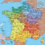 Puzzle-Michele-Wilson-K80-24 Holzpuzzle - Karte von Frankreich Regionen