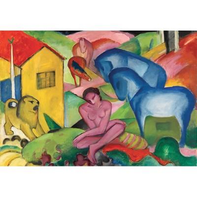 Puzzle-Michele-Wilson-S160-24 Holzpuzzle - Franz Marc - Der Traum