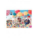 Puzzle-Michele-Wilson-W149-50 Puzzle aus handgefertigten Holzteilen - Marie Cardouat: Im Süßigkeitenland