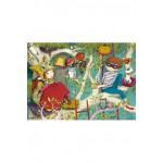 Puzzle-Michele-Wilson-W158-50 Puzzle aus handgefertigten Holzteilen - Lebot: Lesen