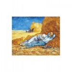 Puzzle-Michele-Wilson-W167-24 Puzzle aus handgefertigten Holzteilen - Vincent van Gogh: Die Mittagsruhe