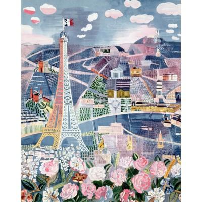 Puzzle-Michele-Wilson-W25-24 Puzzle aus handgefertigten Holzteilen - Raoul Dufy: Paris im Frühling