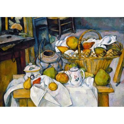 Puzzle-Michele-Wilson-W41-24 Puzzle aus handgefertigten Holzteilen - Paul Cézanne: Stilleben