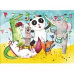 Puzzle-Michele-Wilson-W422-12 Holzpuzzle -  Das Konzert der Tiere