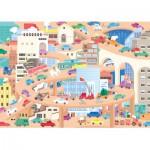 Puzzle-Michele-Wilson-W442-24 Holzpuzzle - Lucie Georger: Vive la Ville