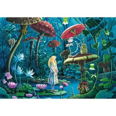 Puzzle-Michele-Wilson-W443-100 Holzpuzzle - Florence Magnin: Alice im Wunderland