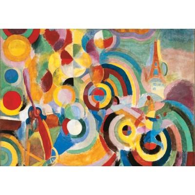 Puzzle-Michele-Wilson-W451-50 Puzzle aus handgefertigten Holzteilen - Robert Delaunay