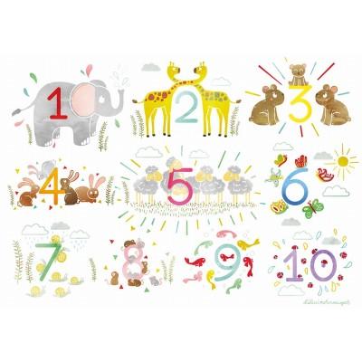 Puzzle-Michele-Wilson-W560-12 Holzpuzzle - Die Zahlen
