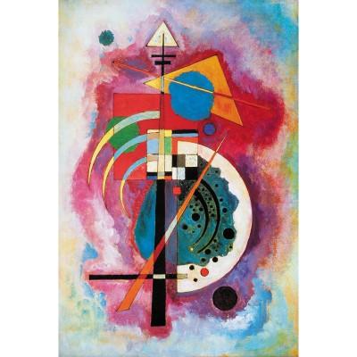 Puzzle-Michele-Wilson-W79-12 Puzzle aus handgefertigten Holzteilen - Wassily Kandinsky: Hommage a Grohmann