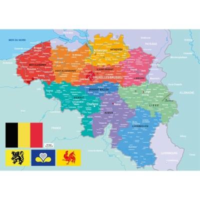Puzzle-Michele-Wilson-W83-24 Holzpuzzle - Belgien