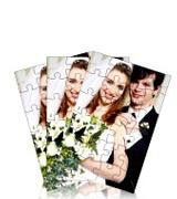 PP-Pack-40-6 Puzzle von ihrem Foto - Set von 40 Puzzle mit je 6 Teilen - A6 Format