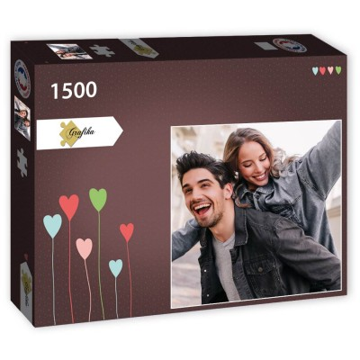 PP-Photo-1500 1500 Teile Fotopuzzle - Quadrat