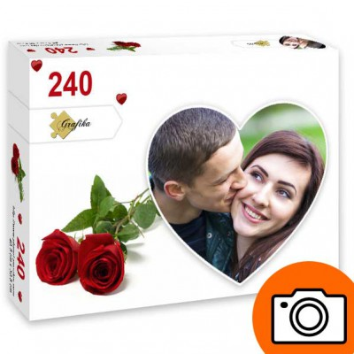 PP-Photo-Coeur-240 240 Teile Fotopuzzle - Herz