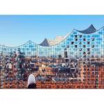 Puzzle  Puls-Entertainment-Puzzle-22222 Hamburg im Spiegel der Elbphilharmonie