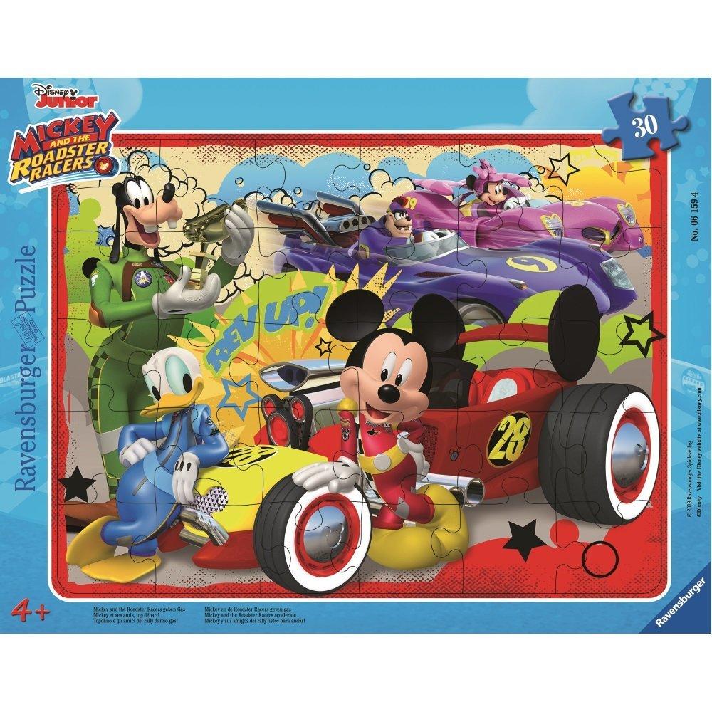 Rahmenpuzzle - Mickey Ravensburger-06159 30 Teile Puzzle Micky Maus ...