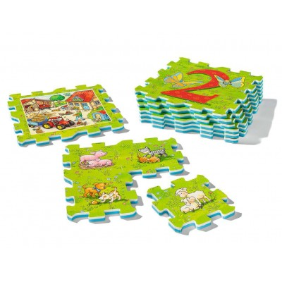 Ravensburger-03008 Riesen-Bodenpuzzle - My First Play Puzzles