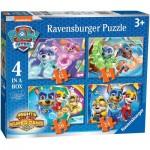 Ravensburger-03029 4 Puzzles - Paw Patrol