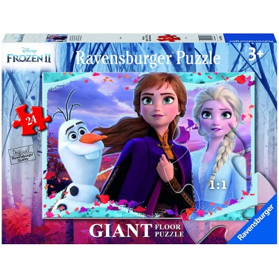 Ravensburger-03036 Giant Floor Puzzle - Frozen 2