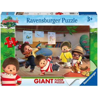 Ravensburger-03038 Giant Floor Puzzle - Monchhichi