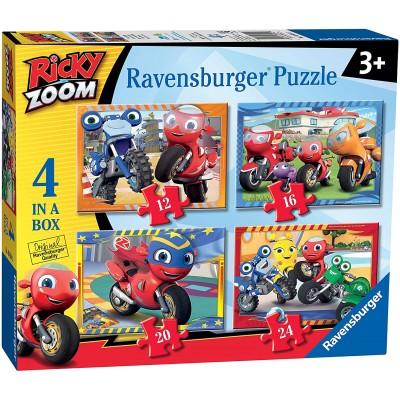 Ravensburger-03054 4 Puzzles - Ricky Zoom
