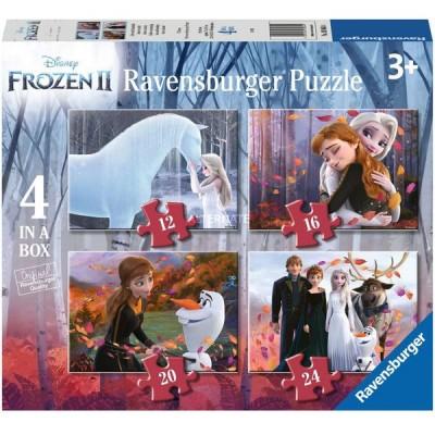Ravensburger-03064 4 Puzzles - Frozen 2