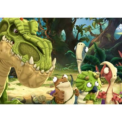 Ravensburger-03073 Giant Floor Puzzle - Gigantosaurus