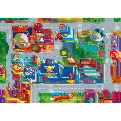 Ravensburger-03075 Giant Floor Puzzle - Super Zings