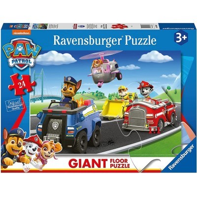 Ravensburger-03089 Giant Floor Puzzle - Paw Patrol