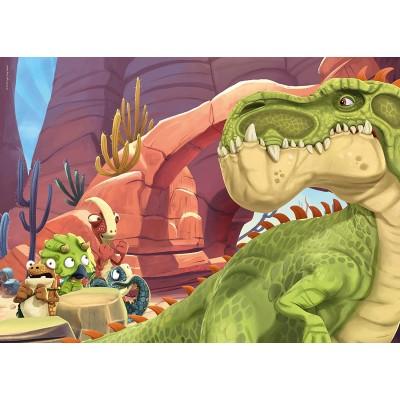 Ravensburger-03093 Giant Floor Puzzle - Gigantosaurus