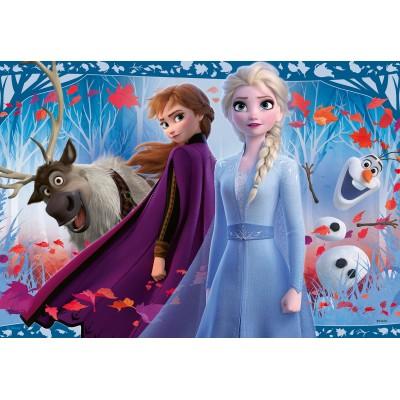 Ravensburger-05009 2 Puzzles - Frozen II