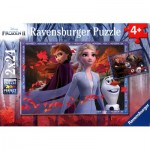 Ravensburger-05010 2 Puzzles - Frozen II