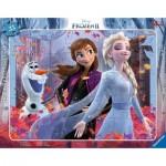 Ravensburger-05074 Rahmenpuzzle - Frozen II