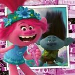 Ravensburger-05081 3 Puzzles - DreamWorks - Trolls World Tour