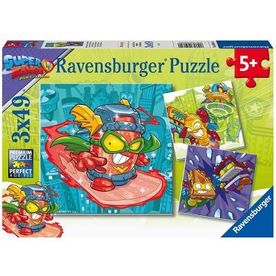 Ravensburger-05084 3 Puzzles - Super Zings