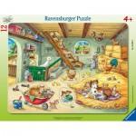Ravensburger-05092 Rahmenpuzzle - Farm Animals