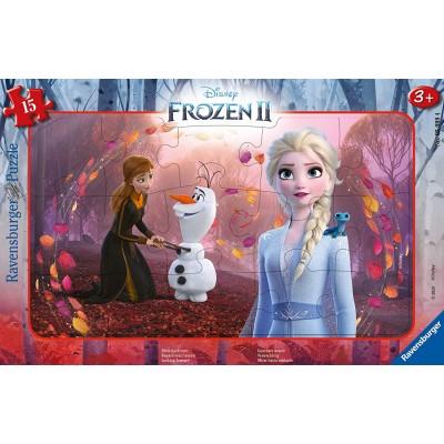Ravensburger-05099 Rahmenpuzzle - Frozen 2