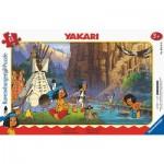Ravensburger-05141 Rahmenpuzzle - Yakari