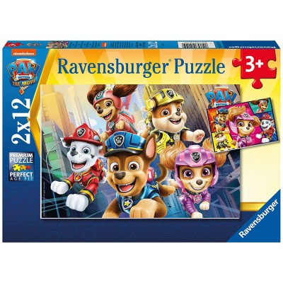 Ravensburger-05151 2 Puzzles - Paw Patrol