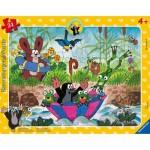 Ravensburger-05152 Frame Puzzle - Garden Friends