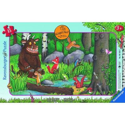 Ravensburger-05225 Frame Puzzle - The Gruffalo