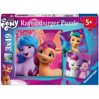 Ravensburger-05236 3 Puzzles - My Little Pony