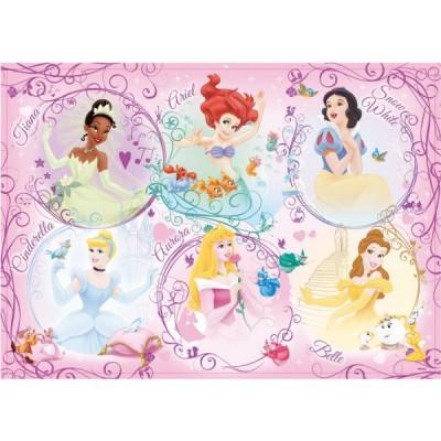 Puzzle  Ravensburger-05296 Disney Prinzessinnen