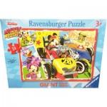 Ravensburger-05331 Riesen-Bodenpuzzle - Mickey
