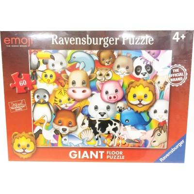 Ravensburger-05334 Riesen-Bodenpuzzle - Emoji