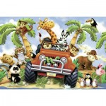 Ravensburger-05401 Riesen-Bodenpuzzle - Safari