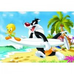 Ravensburger-05413 Giant Floor Puzzle - Looney Tunes