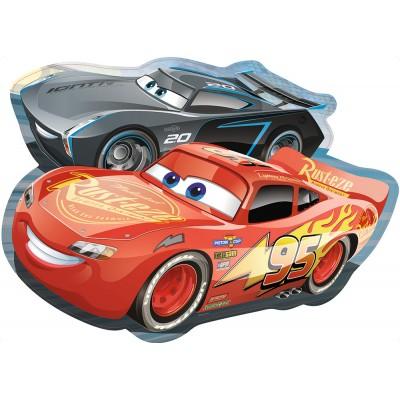 Ravensburger-05454 Riesen-Bodenpuzzle - Cars 3