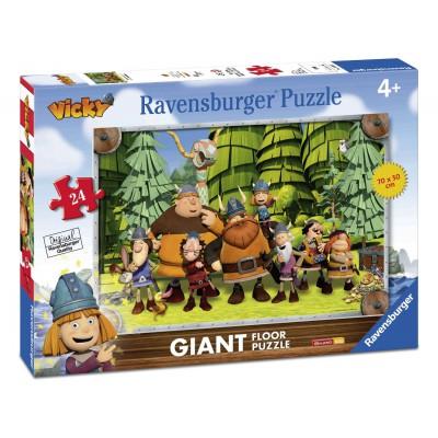 Ravensburger-05462 Riesen-Bodenpuzzle - Wickie