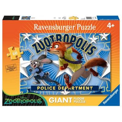 Ravensburger-05474 Riesen-Bodenpuzzle - Judy & Nick
